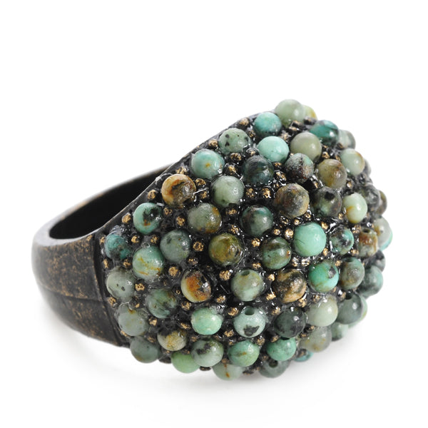Beaded Dome Ring