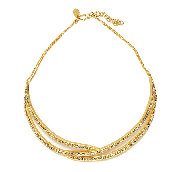 chocker, gold necklace