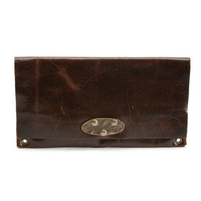 leather wallet, handcrafted