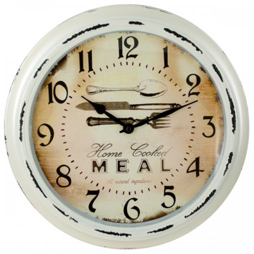 Antique Look Kitchen Wall Clock