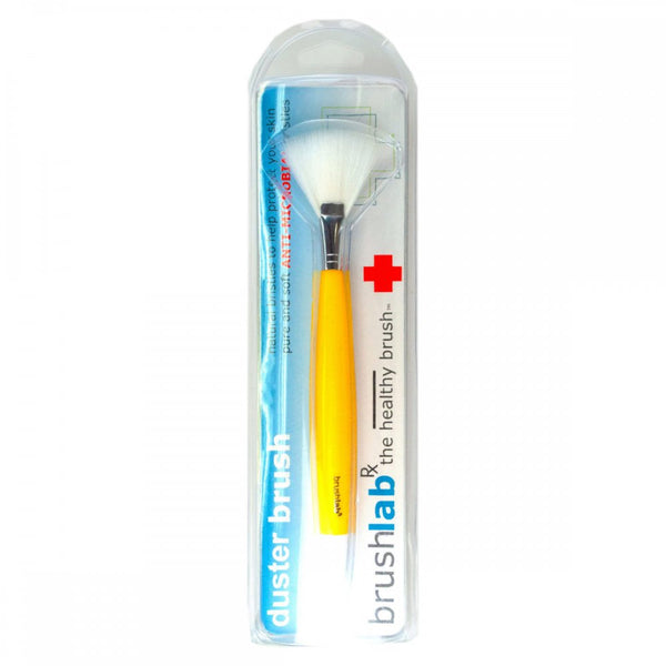 Anti Bacterial Fan Shaped Cosmetic Brush
