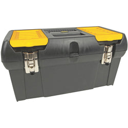 "Stanley 19"" Tool Box With Removable Tray"