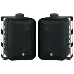 "Bic America 4"" Rtr Series 3-way Indoor And Outdoor Speakers (black)"