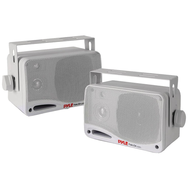 "Pyle Marine-grade 3.5"" 200-watt 3-way Speaker System With Bluetooth (white)"