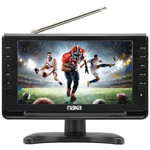 "Naxa 10"" Portable Tv & Digital Multimedia Player With Car Package"