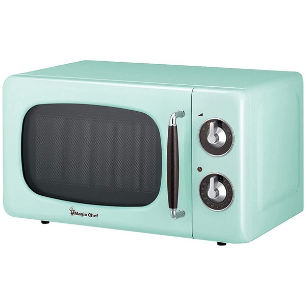 Magic Chef .7 Cubic -ft 700-watt Retro Microwave (mint Green)