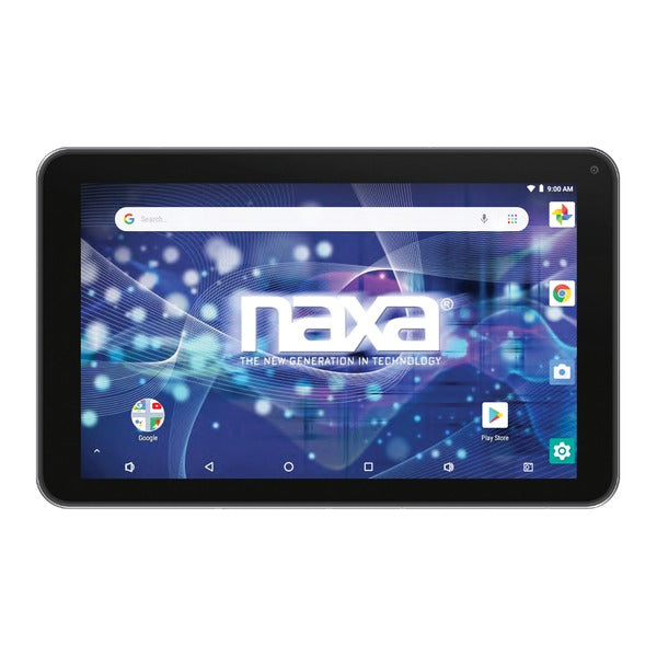 Naxa 10.1-inch Core Tablet With Android Os 8.1 And Keyboard