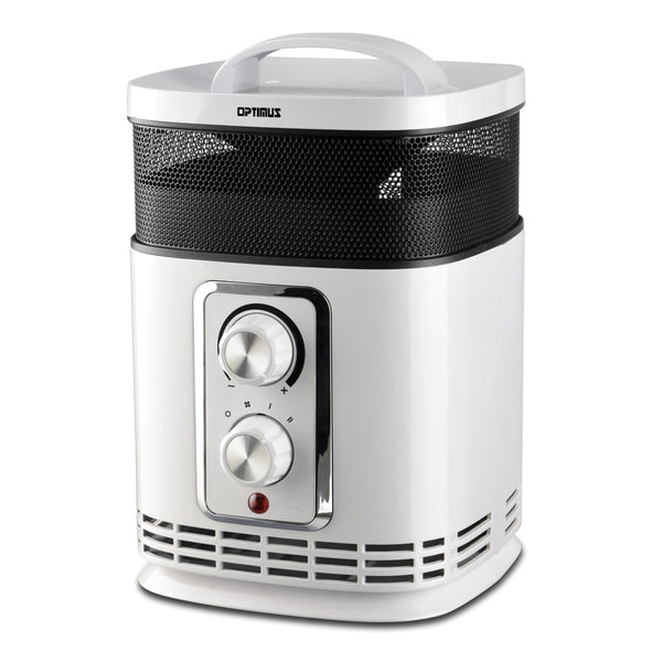 Optimus Portable 360? Surround Ceramic Heater With Thermostat