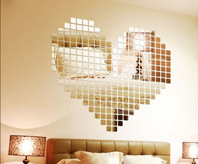 Acrylic Mirrored Decorative Sticker - Homelylab