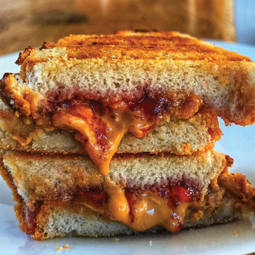 Toasted PB & Strawberry Jam