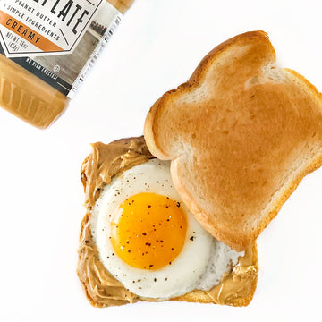 Peanut Butter & Egg Breakfast Sandwich
