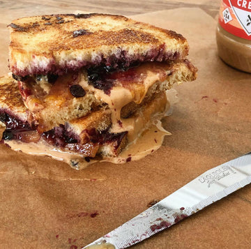 Peanut Butter and Jelly Grilled Cheese Sandwich