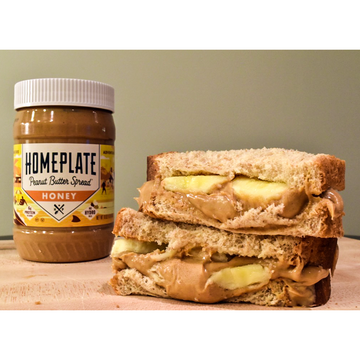 Honey Peanut Butter & Banana Sandwich