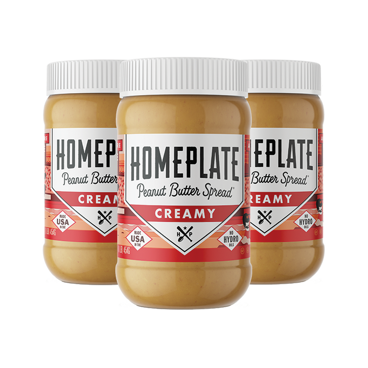 Creamy Peanut Butter (3 pack)