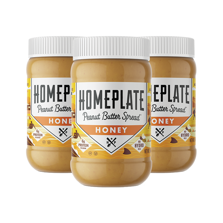 Honey Peanut Butter (3 pack)