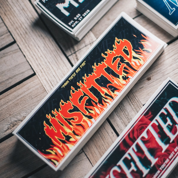 This Is Fire Sticker - MisFitted