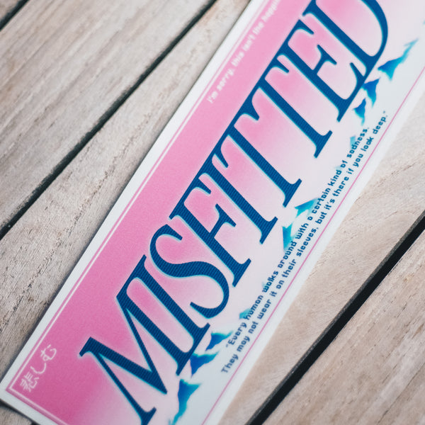 Vaporwave Sticker - MisFitted