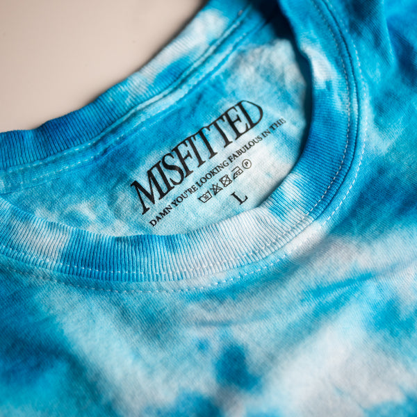 Blue Tie Dye Shirt - MisFitted