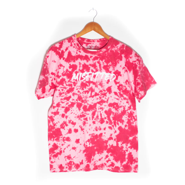 Red Tie Dye Shirt - MisFitted