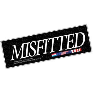International Sticker - MisFitted