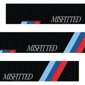 Black M Performance Windshield Banner - MisFitted