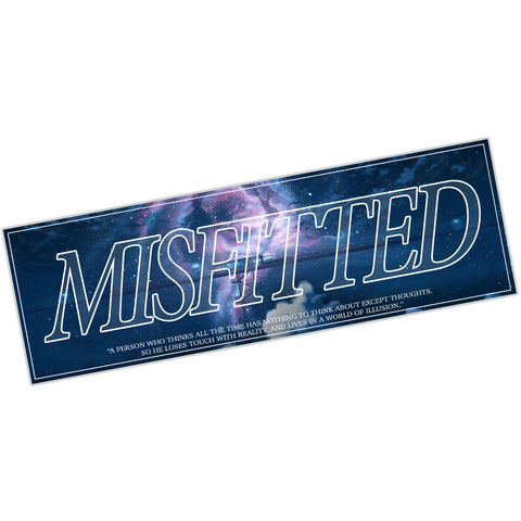 Overthinker Sticker - MisFitted