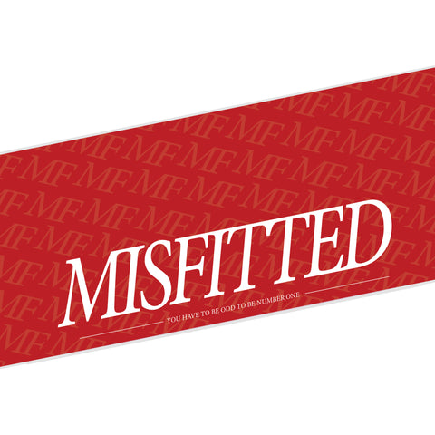 Red MisFitted Windshield Banner - MisFitted
