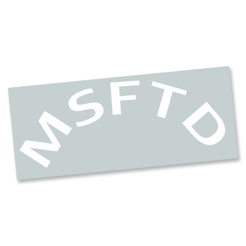 Round MSFTD Decal - MisFitted