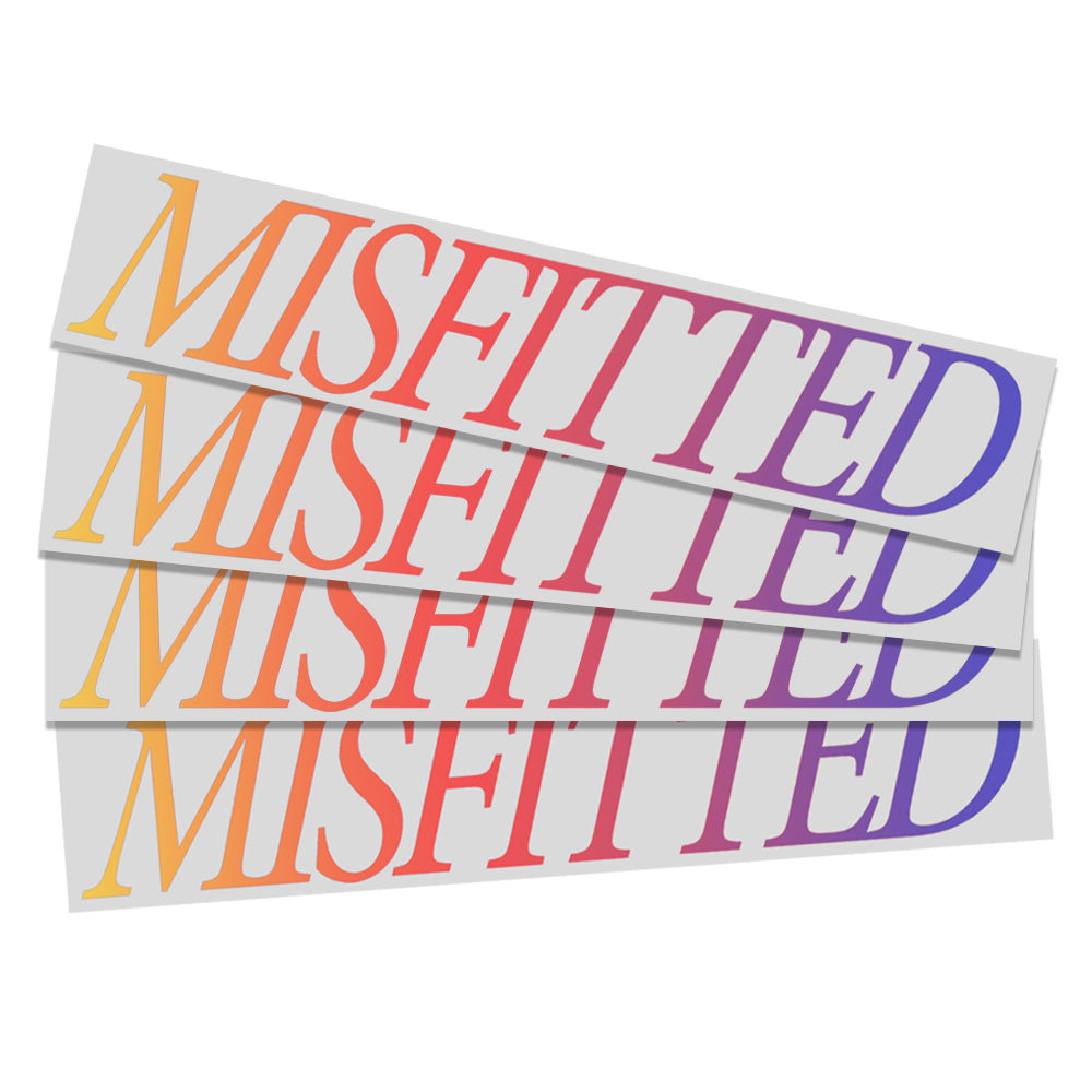 Shiny Letters - MisFitted
