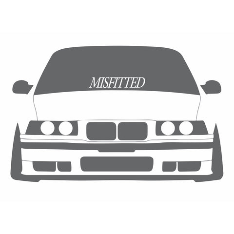 Big Die Cut Decal - MisFitted