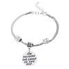 Image of Inspirational Jewelry Engraved Message She Believed She Could so She Did Quote Token Bracelet for women, girls, friendship, wedding gift jewelry - Perfect Gift for Women, Men, Teens, Girls