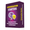 Image of Conversation Starters: Questions to Start Interesting Conversations for Girls Parties, Bachelorette! Best Travel Optimized Deck Game