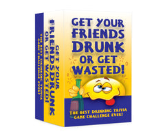 Get your Friends Drunk or Get Wasted! Hilarious Adult Drinking Card Game