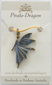 Blue Fairy Pendant