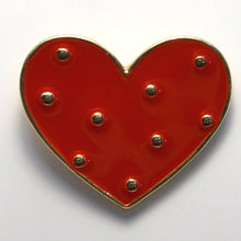 Load image into Gallery viewer, Heart Enamel Pin
