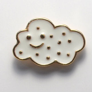 Cloud Enamel Pin