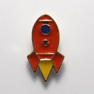 Rocket Enamel Pin
