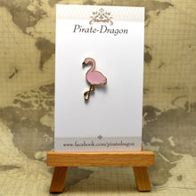 Load image into Gallery viewer, Flamingo Enamel Pin