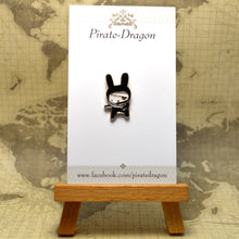 Load image into Gallery viewer, Ninja Bunny Enamel Pin