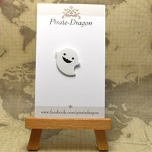 Load image into Gallery viewer, Happy Ghost Enamel Pin