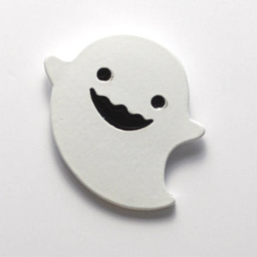 Happy Ghost Enamel Pin