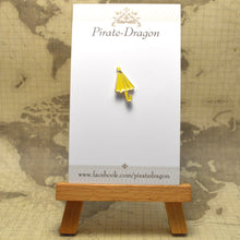 Load image into Gallery viewer, Yellow Umbrella Enamel Pin