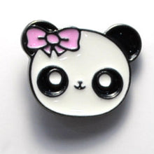 Load image into Gallery viewer, Panda Head Enamel Pin