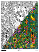 Load image into Gallery viewer, Bugs & Birds Doodle Art POSTER KIT (24 x 34 inch)