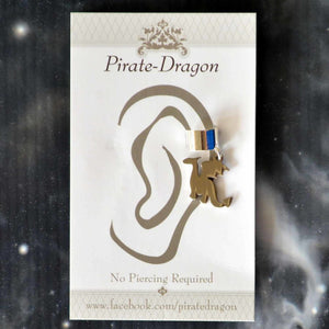 Mini Dragon Non-Pierced Ear Cuff (EC9484)