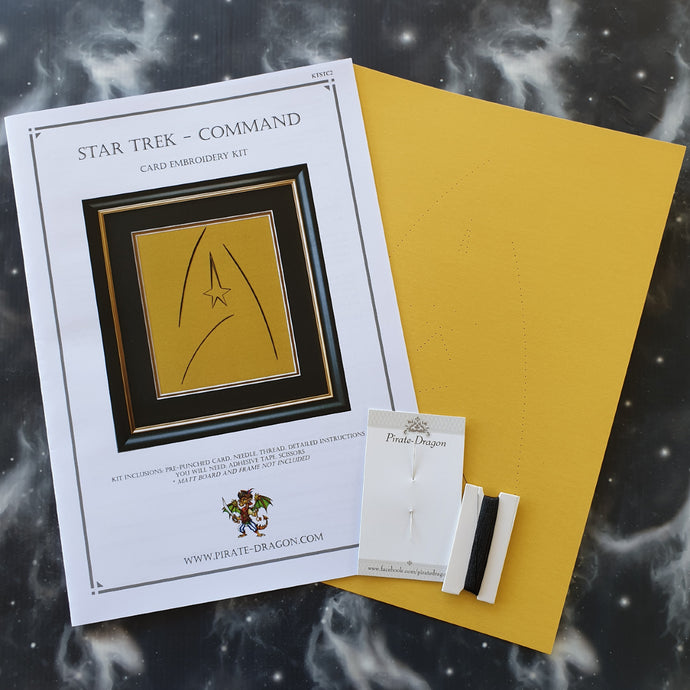 Star Trek Command - Card Embroidery Kit