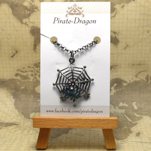 Spider Pendant - Hand painted (PP0060)