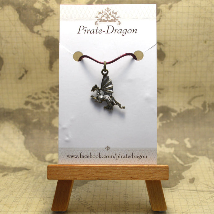 Dragon Pendant - Hand painted (PP0066)