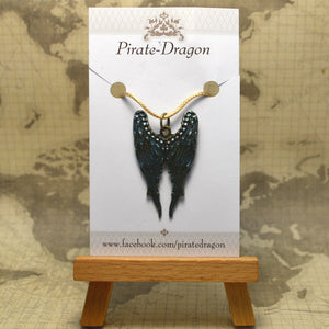 Wings pendant - Handpainted (PP0230)
