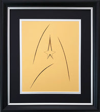 Load image into Gallery viewer, Star Trek Command - Card Embroidery Design